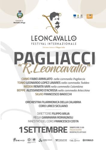 Pagliacci Opera 1 settembre 2018