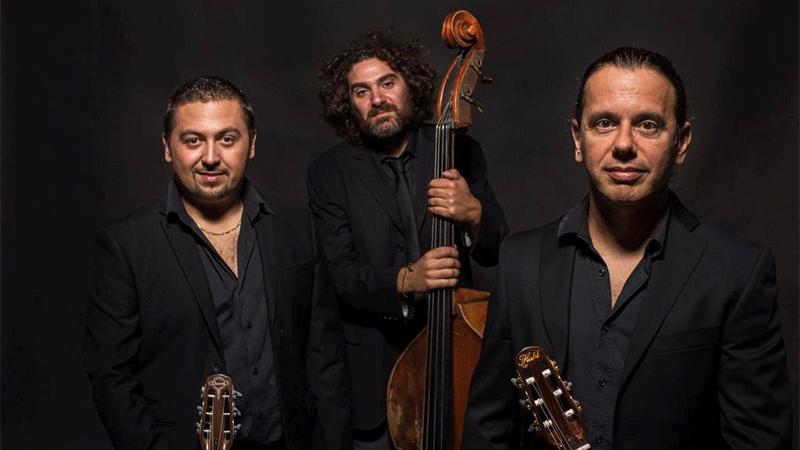 Gypsy Jazz Trio in concerto stasera per il Festival R. Leoncavallo