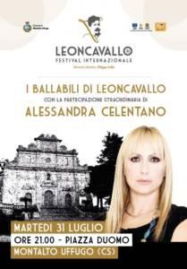 Alessandra Celentano Festival Leoncavallo 31 luglio 2018